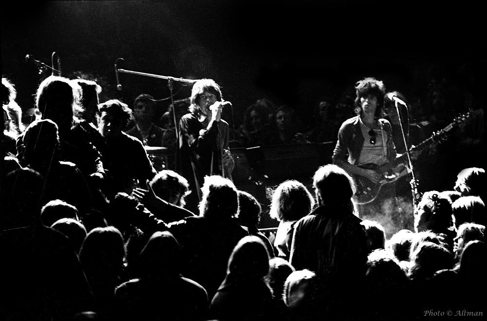 Photo of The Stones at Altamont ~ 1969